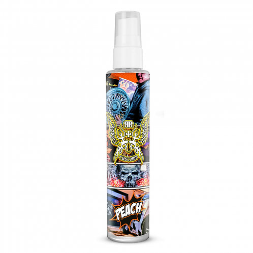 "Spray Air Freshener ""Peach"" Scent with Hanger 100ml"