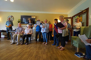 Running Singing for Health Groups