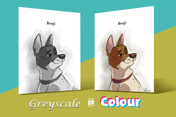Greyscale or Colour