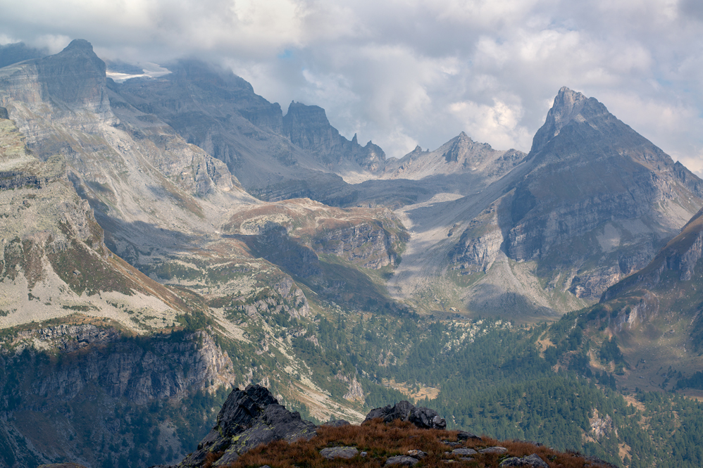Alpe Veglia, View East