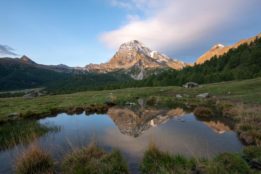 Alpe Veglia, View West