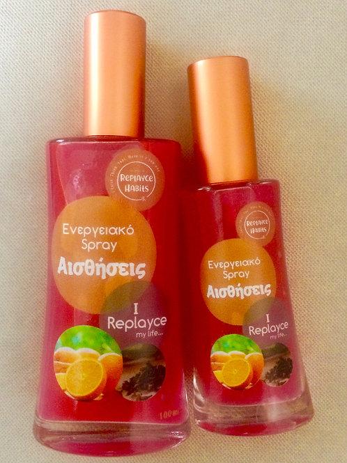 Replayce Senses-Ενεργειακό Spray Αισθήσεις