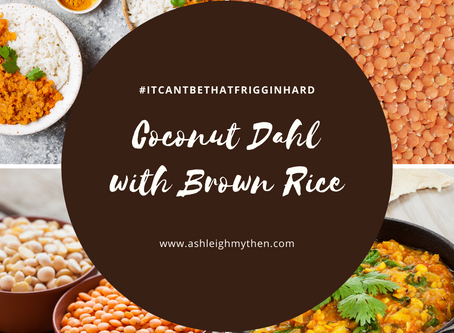 Coconut Daal with Brown Rice