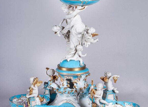 Sevres, centre de table en porcelaine