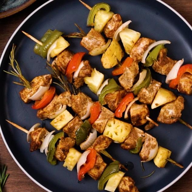 3-Step Weeknight Chicken Kebabs