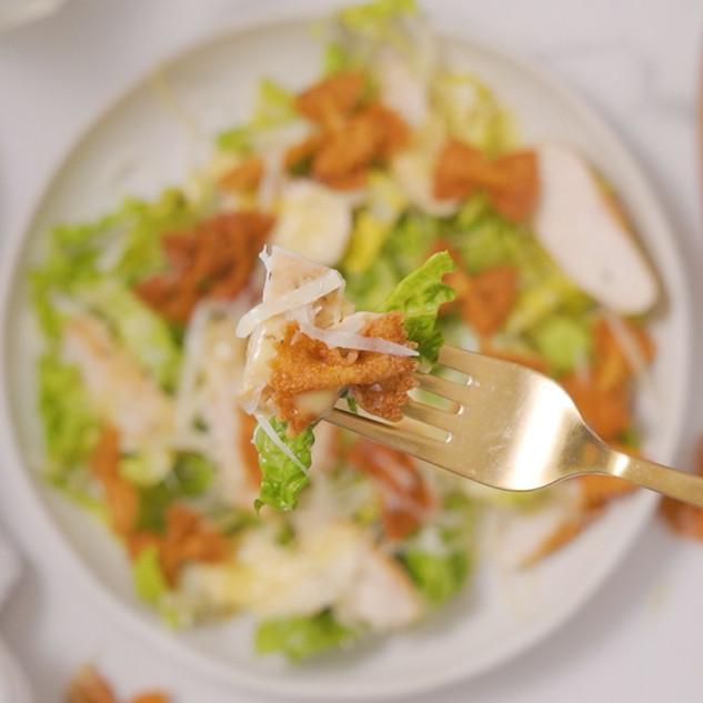 Chicken Caesar Salad with a Twist