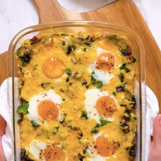 Cheesy Breakfast 'Paptert'