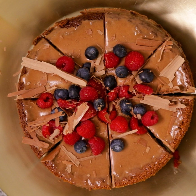 3-Ingredient Chocolate Mousse Cake