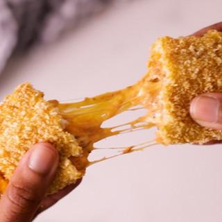 Crumbed Cheesy Pilchard Pockets