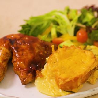Garlic Bread Potato Bake
