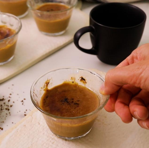 5-ingredient Cappuccino Crème Brûlée