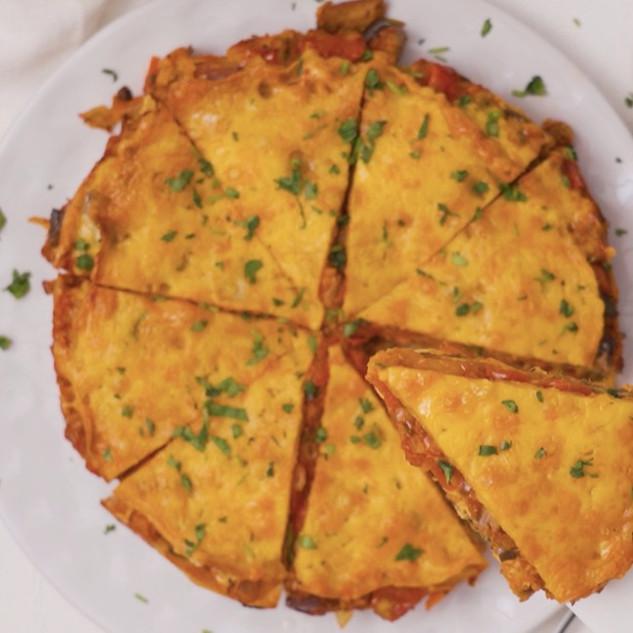 Cheesy Pancake Bakes
