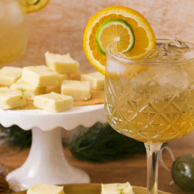 Perfectly Paired Whisky & Lime Fudge