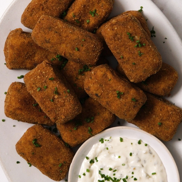 5-Ingredient Fish Fingers with a Cheesy Centre