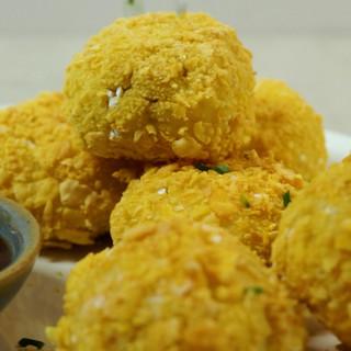 Savoury 'Mince' & Mash Balls