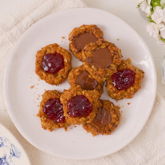 5-Ingredient Thumbprint Cookies