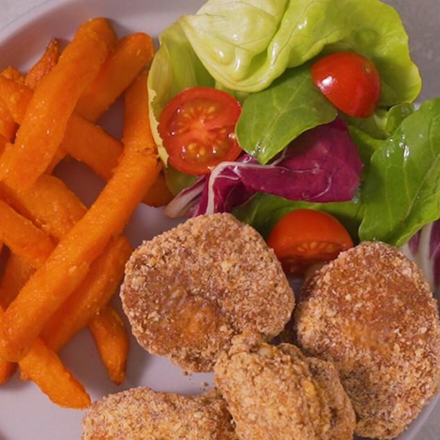 Ham & Cheese Chicken Nuggets