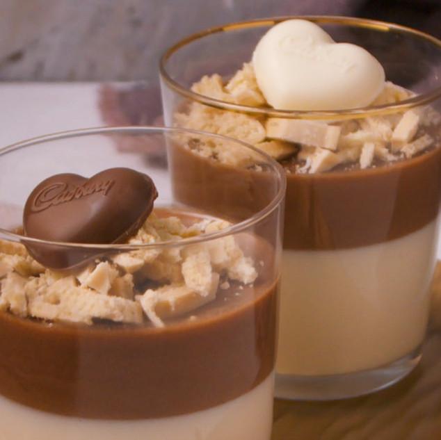 Triple Chocolate Marshmallow Mousse