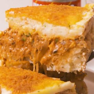 Epic Mash Potato & Fish Cake