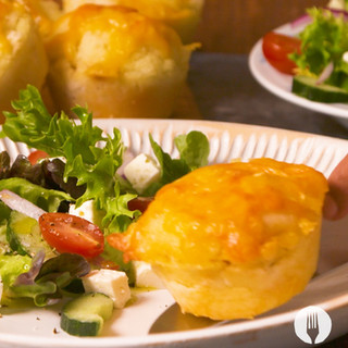 Cottage Pap-Pies Made in a Muffin Tin