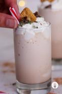 Peppermint Crisp Tart Milkshakes