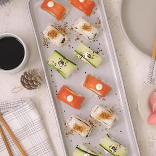 Ice-Tray Sushi Bites