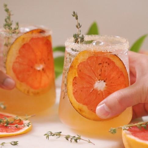 Super Simple Sparkling Brunch Mocktails