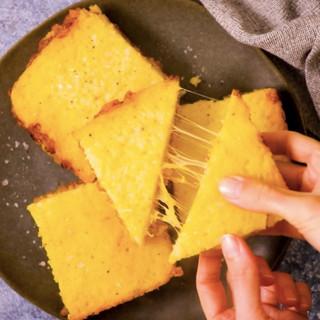 Cheese & Chakalaka Rice Toasties