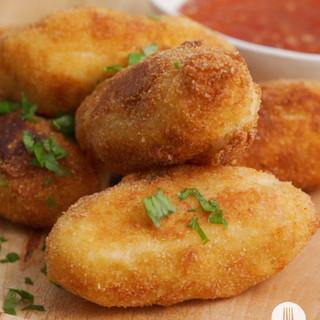 Vienna & Cheese Potato Bombs