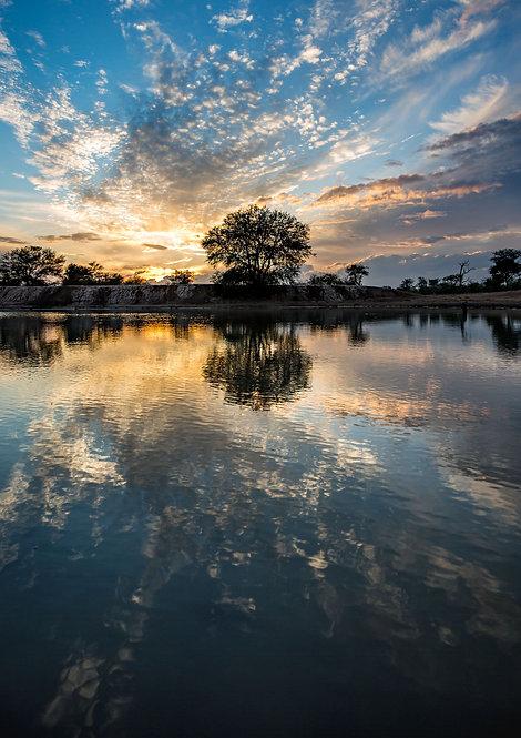 Sunrise Over Water 2