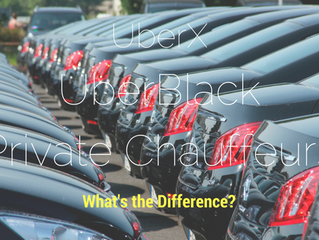 Uberx, Uberblack And Private Chauffeurs: What's The Difference?