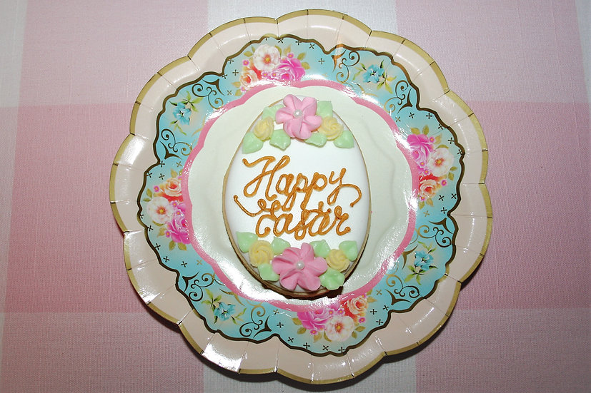 Floral Happy Easter Eggs
