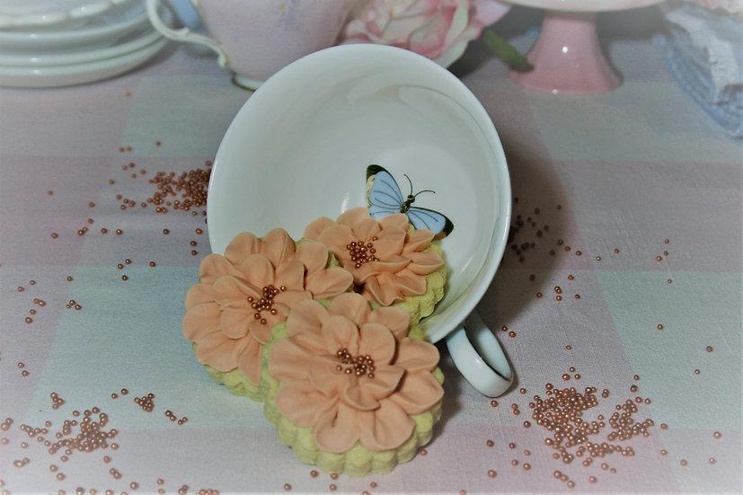 Mini Blush Flowers - 3 Pack