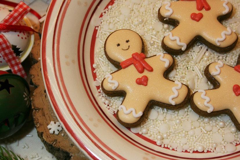 3 Mini Gingerbread Men