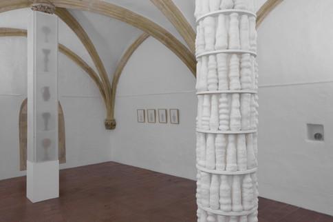 schlusssteine/gefäße/pfeiler, 2009