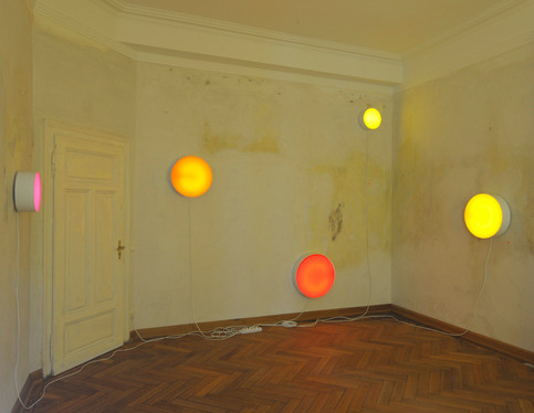 Wandinstallation: Lovesongs