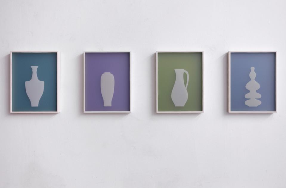 SRN 4 auf Smaragd, SRN 3 auf Lila, SRN 2 auf Olive, SRN 1 auf Blau, 2010