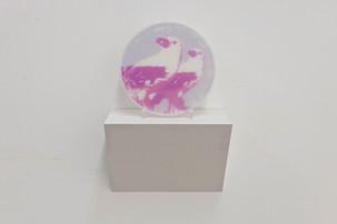 Vogelpaar – pink/kräftig, 2012