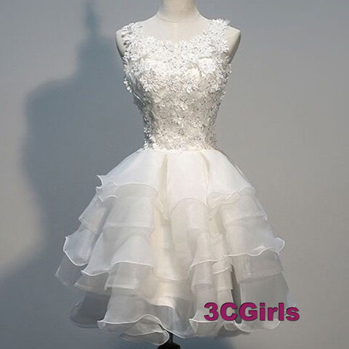 Cute Lace Wedding Gown