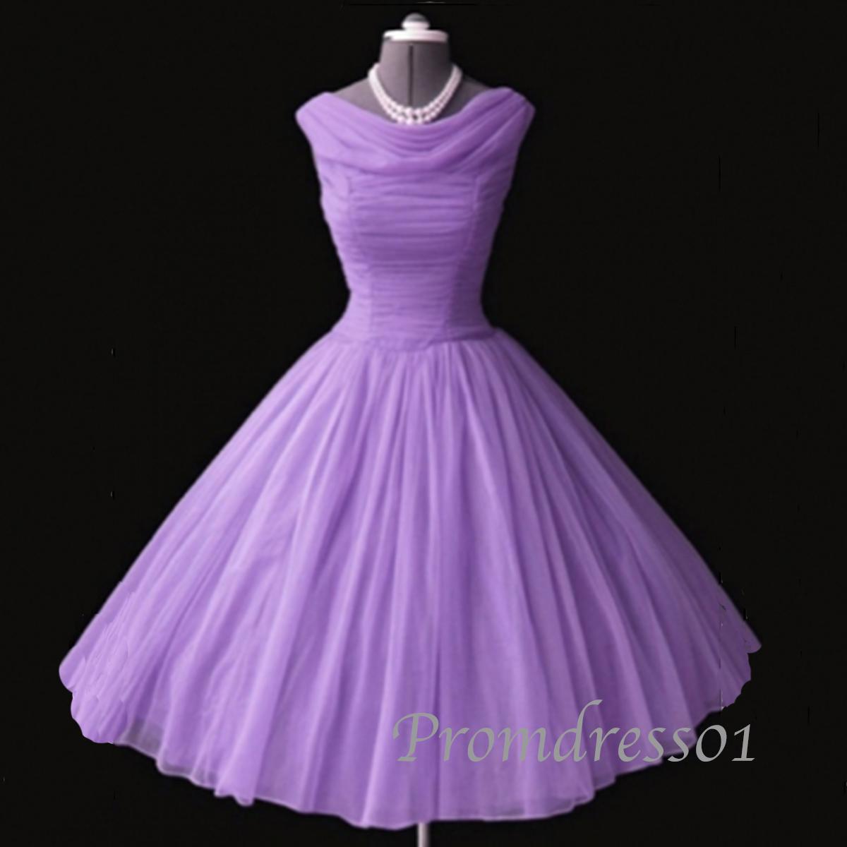 Light purple vintage prom dress bridesmaid dress  Prom dresses ...