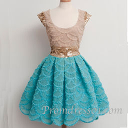 Cute vintage short prom dress, homecoming dress | Prom dresses ...