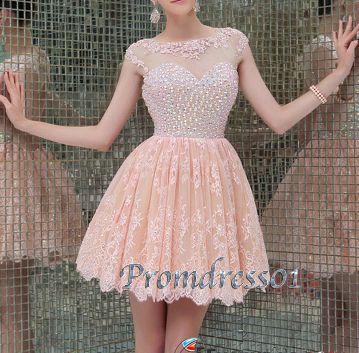 Pink Short Prom Dress Tumblr