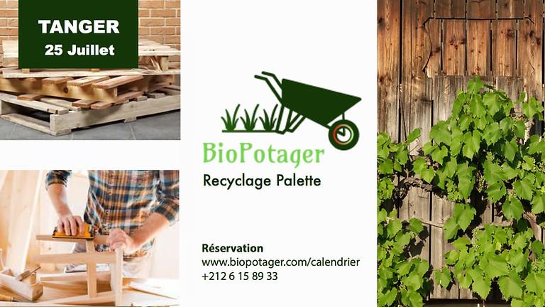 ATELIER: Construire un meuble en recyclant des palettes