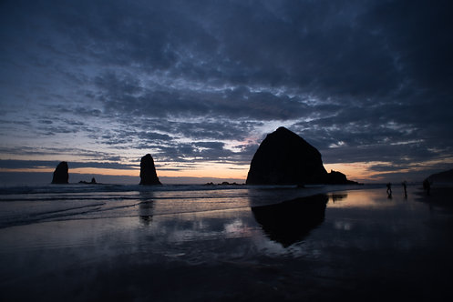 Canon Beach Sunset