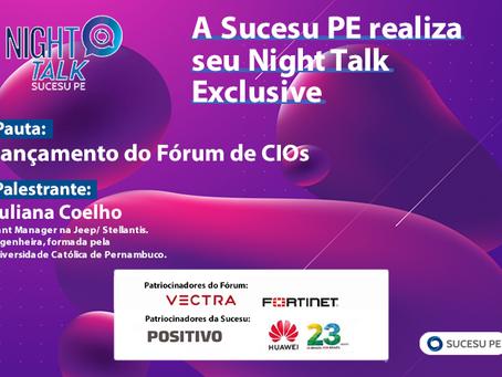 Sucesu PE reúne 40 CIOs no seu Night Talk Exclusive