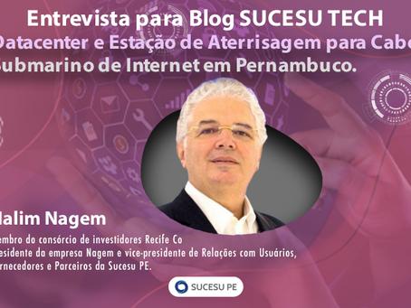 Datacenter e Estação de Aterrisagem para Cabo Submarino de Internet em Pernambuco