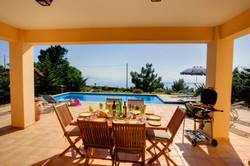Villa Bernice patio