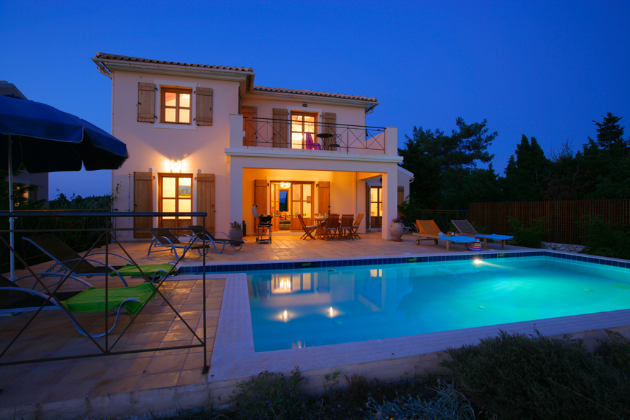 Villa Bernice evening