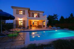 Villa Bernice evening