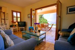 Villa Bernice lounge view